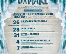 Calendario Teatro d'aMare 2018