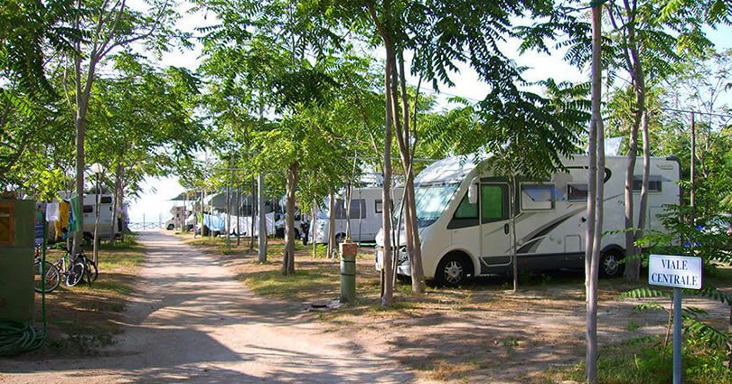 Campeggio Marina del Convento, Tropea camping