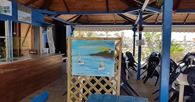 Campeggio Marina del Convento, Tropea il bar
