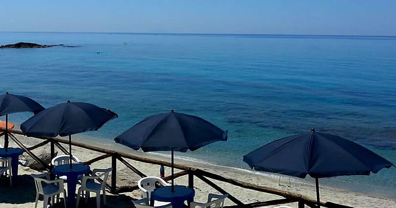 Campeggio Marina del Convento, Tropea la spiaggia