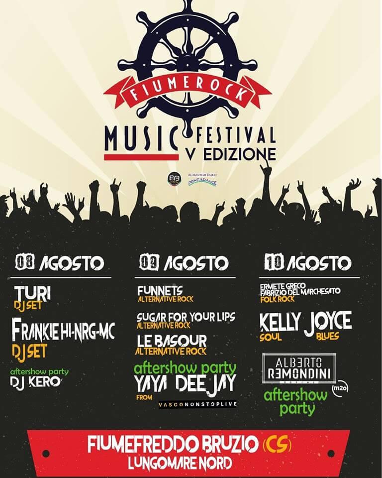 Fiume Rock Music Festival 2018 locandina