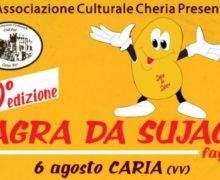 40 edizione Sagra da Sujaca Caria di Drapia (vv) 6 agosto 2018