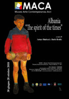 ALBANIA The Spirit of the Times al MACA Museo Arte Contemporanea Acri 2018 locandina