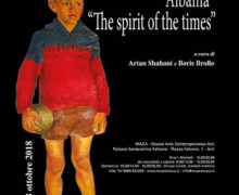 ALBANIA The Spirit of the Times al MACA Museo Arte Contemporanea Acri 2018 locandina