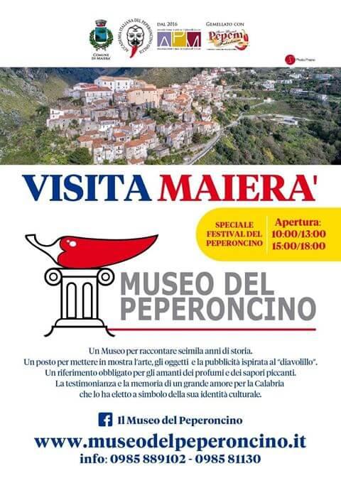 Museo del Peperoncino a Maierà