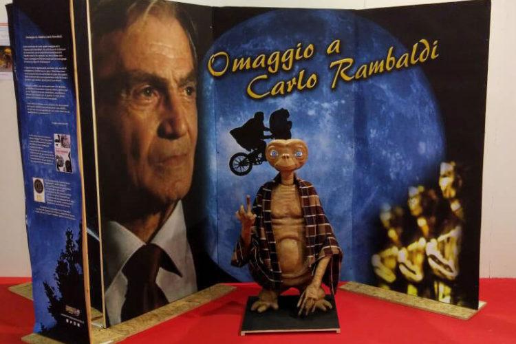 Omaggio a Carlo Rambaldi del Lamezia Comics & Co 2018