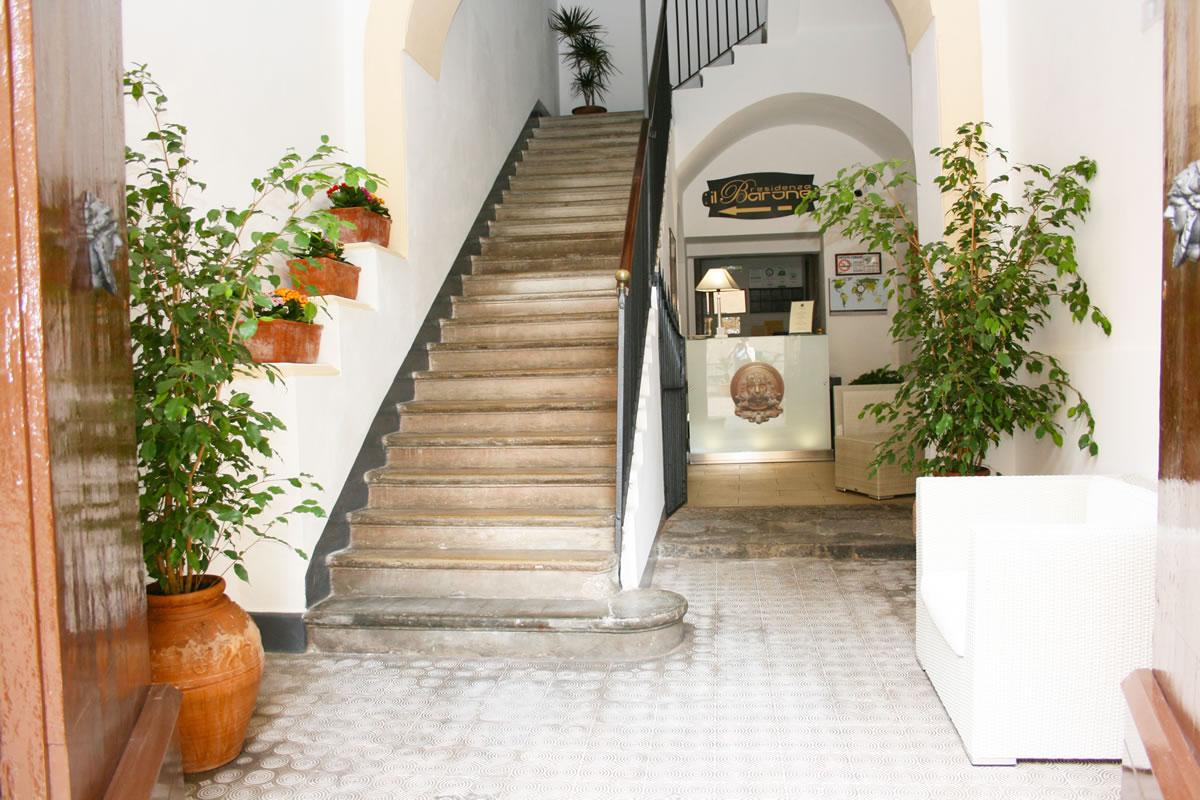 Residenza il Barone hall, Tropea