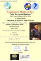 presentazione e dibattito sul libro Sotto il segno dei Borbone locandina