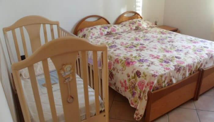 Appartamento Il Girasole a Tropea camera letto matrimoniale