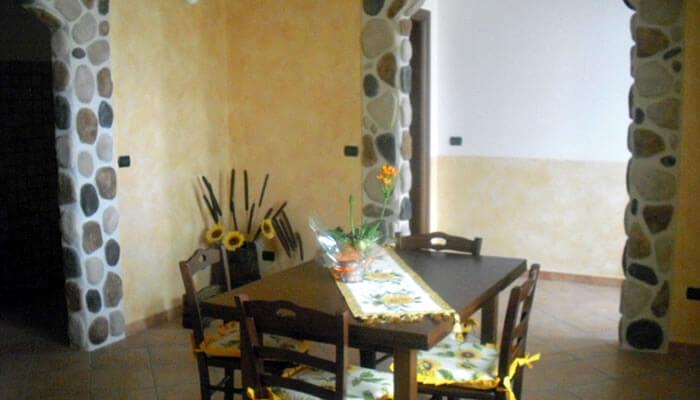 Appartamento Il Girasole a Tropea la sala