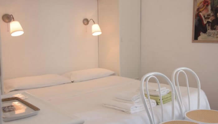 Bed Breakfast Al Vecchio Castello, Tropea - camera matrimoniale letto