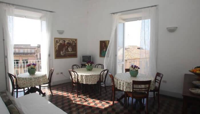Bed Breakfast Al Vecchio Castello, Tropea - sala colazioni