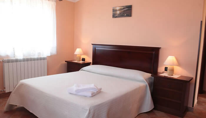 Bed and Breakfast Villa Isa a Sant'Angelo di Drapia - camera