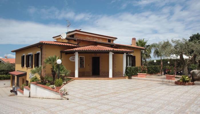 Bed and Breakfast Villa Isa a Sant'Angelo di Drapia - la struttura