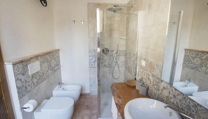 Camere da Cecè, Tropea - bagno doccia