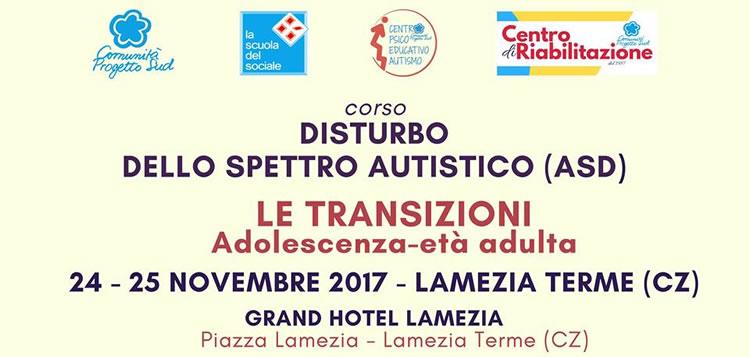 Disturbo dello spettro autistico. Le transizioni