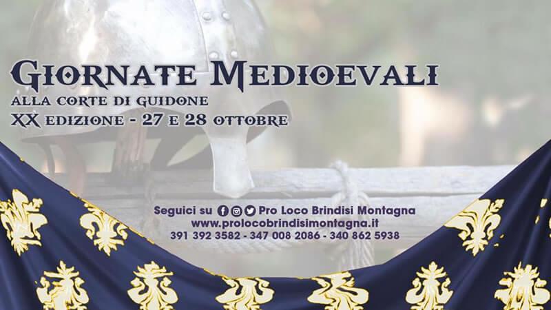 Giornate Medioevali 2018 Brindisi Montagna 27 - 28 ottobre 2018