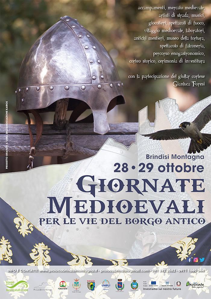Giornate Medioevali XIXed. Brindisi Montagna- 28-29 ottobre 2017
