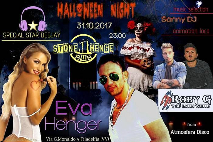 Halloween Night Stonehenge Pub 2017
