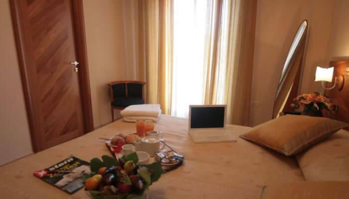 Hotel Ristorante La Bussola, Capo Vaticano - camere