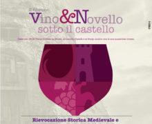 II edizione di Vino e Novello sotto il Castello a Cirò 2017 locandina