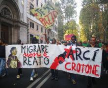 Migrare non è reato Roma 21 Ottobre 2017