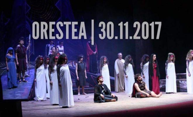 ORESTEA Giovedi 30 Novembre 2017 Teatro A.Rendano - Cosenza