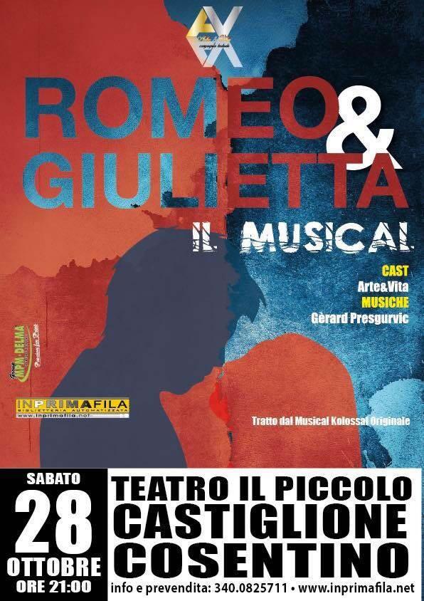 ROMEO & GIULIETTA 28 ottobre 2017 a Castiglione Cosentino