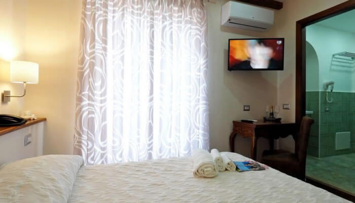 Residenza LoryLu Tropea - camera tv