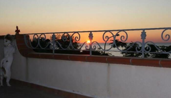 Residenza Pausada, Parghelia - tramonto