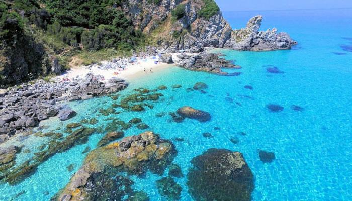 Spiaggia Paradiso del Sub, Zambrone