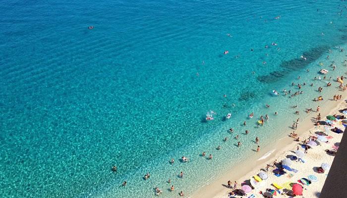 Spiaggia delle Roccette, Tropea