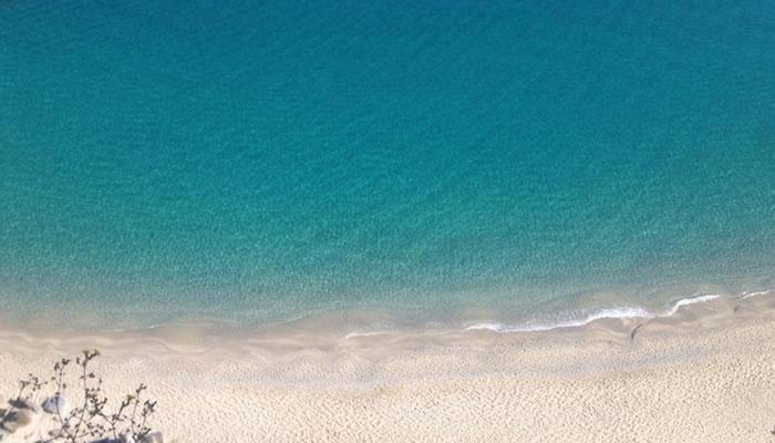 Spiaggia di Tropea vista dall'affaccio