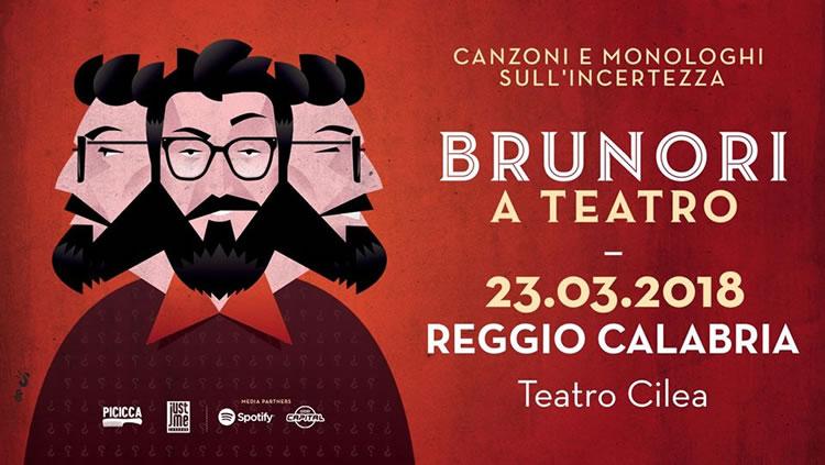 Brunori a Teatro - Reggio Calabria - Teatro Cilea