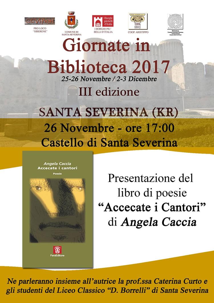Giornate in Biblioteca 2017
