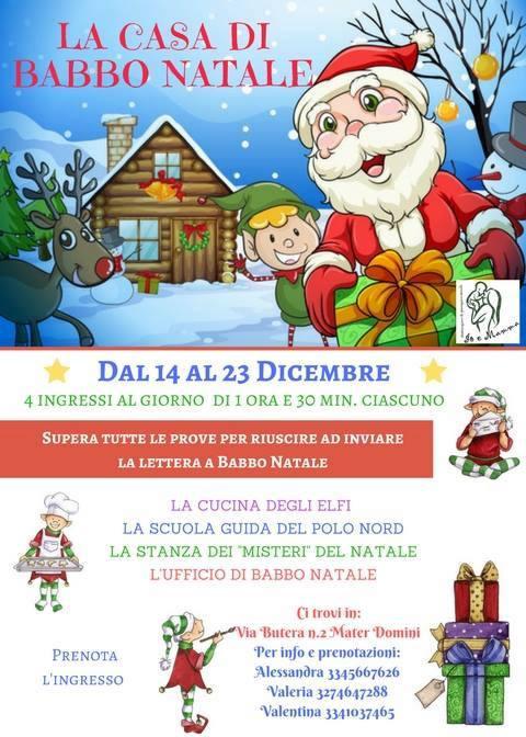 La casa di Babbo Natale di Catanzaro