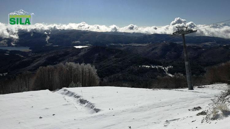 Nevicata sul Monte Botte Donato in Sila, 27 Novembre 2017 - 3