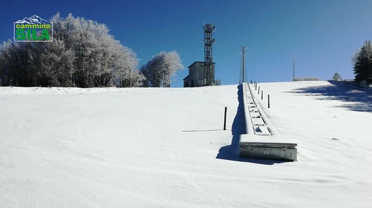 Nevicata sul Monte Botte Donato in Sila, 27 Novembre 2017 - 5