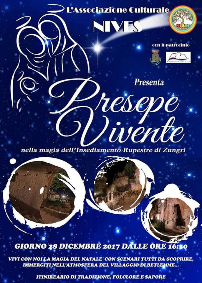 Presepe Vivente 2017 a Zungri