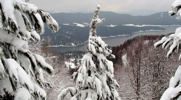 Calabria neve sui monti