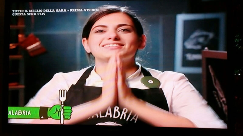 LETTERA APERTA ALLA VINCITRICE DEL PROGRAMMA TV CUOCHI D'ITALIA