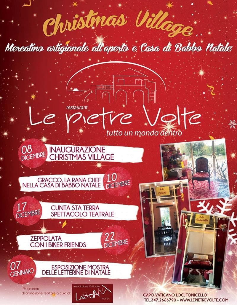 Le Pietre Volte presenta Christmas Village locandina