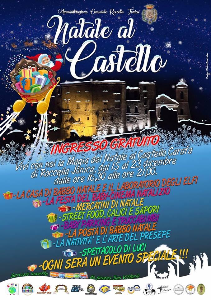 Natale al Castello a Roccella Ionica 2017