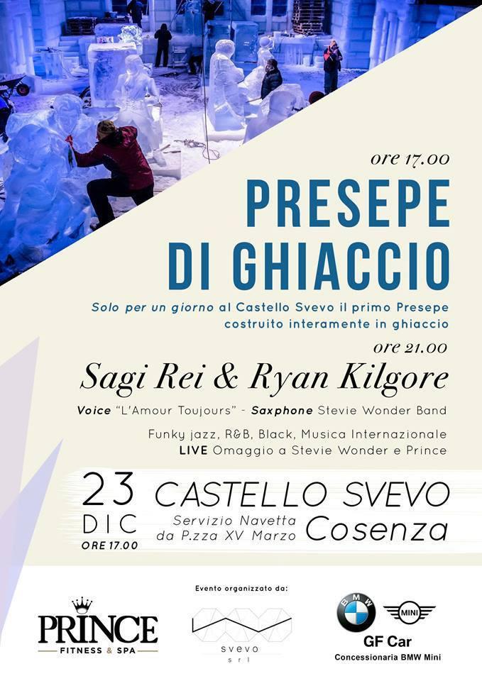 Presepe di Ghiaccio 2017 a Cosenza
