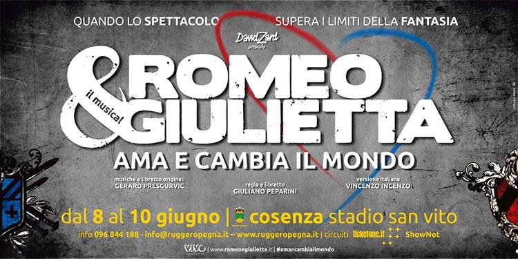 Romeo & Giulietta Ama e cambia il mondo - Cosenza