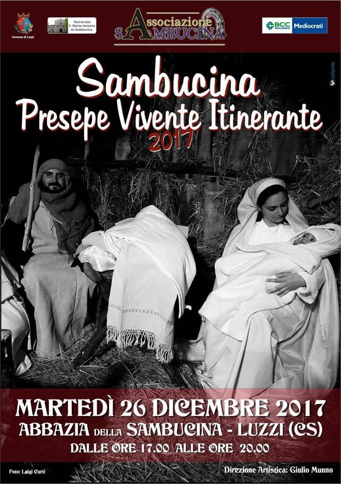 Sambucina - Presepe Vivente Itinerante locandina