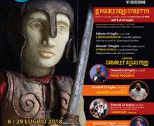 FESTIVAL NAZIONALE DEL CABARET FACCE DA BRONZI - VI edizione 8 - 29 luglio 2018 - REGGIO CALABRIA locandina