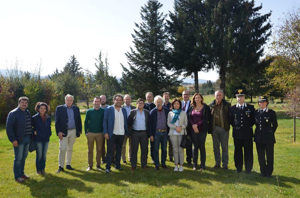 Parco Sila Patrimonio dell'Umanità adottato dall'Unesco visita Pierre Galland