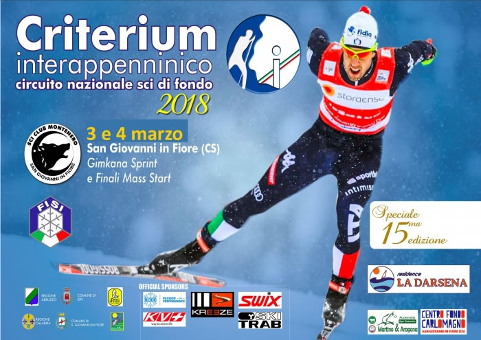 Criterium Interappenninico di Sci di Fondo - 03 e 04 marzo 2018