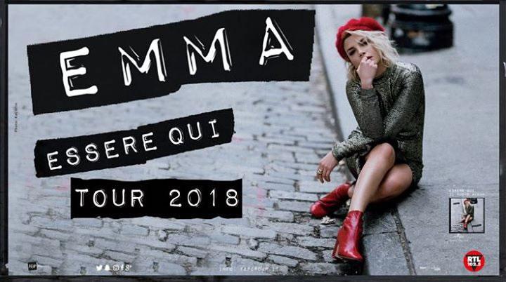 Emma Marrone Essere Qui Tour 2018